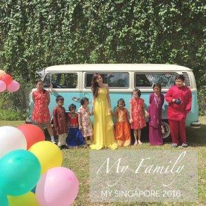 Lorraine Tan的專輯My Singapore 2016 My Family
