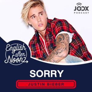 อัลบัม English AfterNoonz: Sorry - Justin Bieber ศิลปิน English AfterNoonz [ครูนุ่น Podcast]