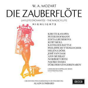 Album Mozart: Die Zauberflöte - Highlights from Orchestre Philharmonique De Strasbourg