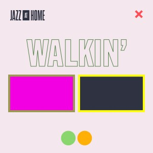 Album Walkin' (Jazz at Home) from Jazz at Lincoln Center Orchestra