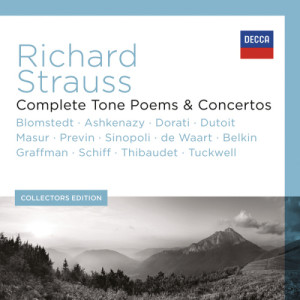 Album Richard Strauss - Complete Tone Poems & Concertos from Herbert Blomstedt