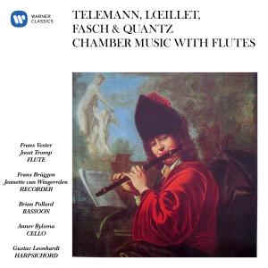 Album Telemann, Lœillet, Fasch & Quantz: Chamber Music with Flutes from Gustav Leonhardt