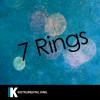 Instrumental King Album 7 Rings (In the Style of Ariana Grande) [Karaoke Version] Mp3 Download