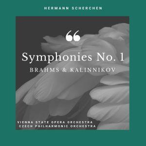 Album Symphonies No. 1 of Brahms & Kalinnikov from Vienna State Opera Orchestra