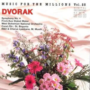 Album Music For The Millions Vol. 25 - Antonin Dvorak from Ljubljana Radio Symphony Orchestra
