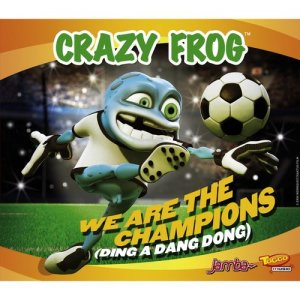 Crazy Frog的專輯We Are The Champions [Ding A Dang Dong]