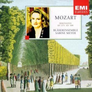 Sabine Meyer的專輯Mozart: Wind Serenades No.11 K.375 & No,12 K.388 [384a]
