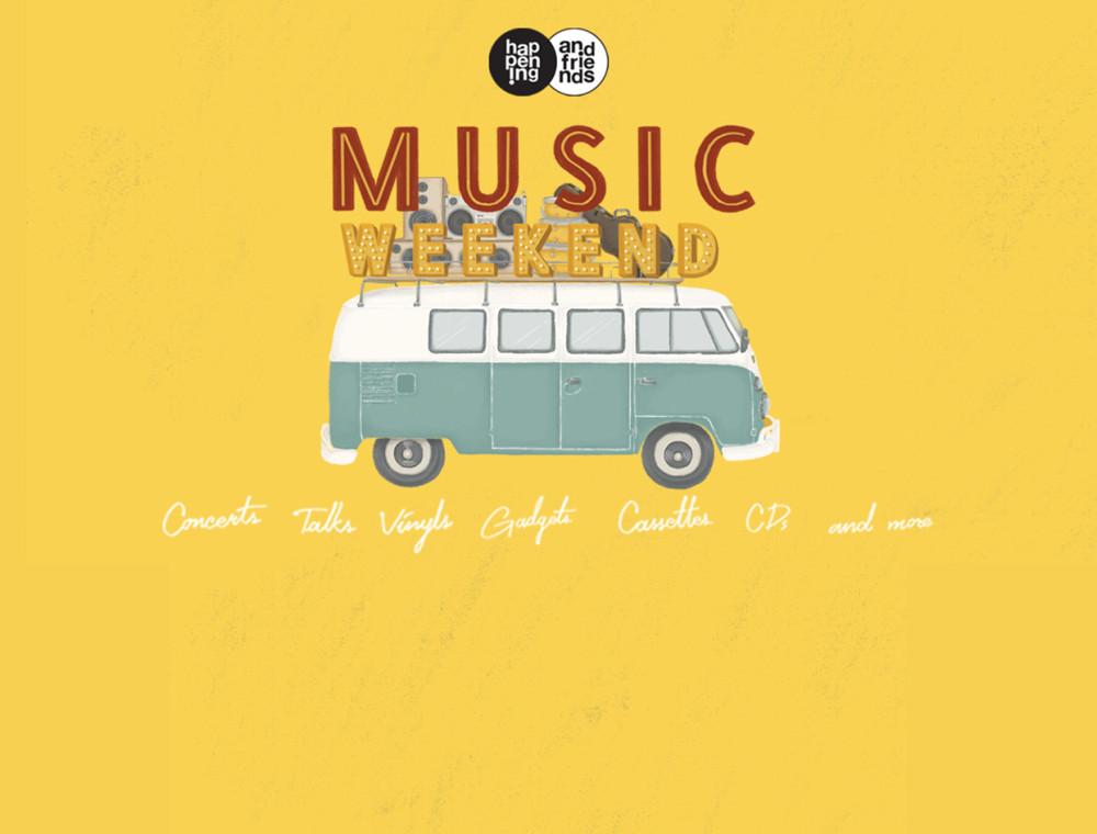 JOOX จับมือ happening and friends แจกรางวัลพิเศษสำหรับผู้มาร่วมงาน happening and friends: Music Weekend !!