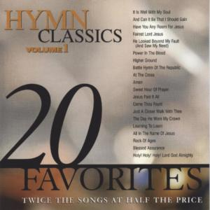 Album 20 Hymn Classics Volume 1 from Studio Musicians