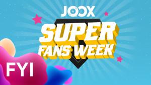 ANNOUNCEMENT: JOOX Super Fans Week Winner 11 – 17 Juli!