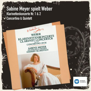 Sabine Meyer的專輯Sabine Meyer spielt Weber
