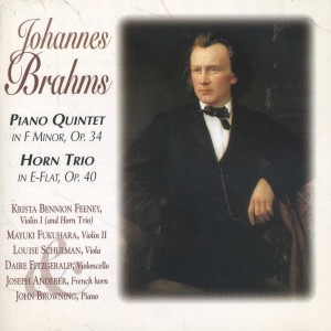 Album Brahms: Piano Quintet - Horn Trio from John Browning
