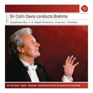 Sir Colin Davis的專輯Brahms: The 4 Symphonies & Haydn Variations & Piano Concertos