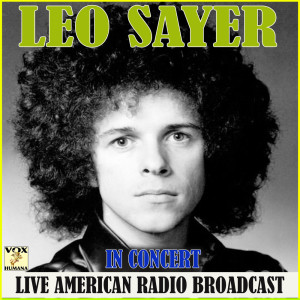 Album Leo Sayer in Concert from Leo Sayer