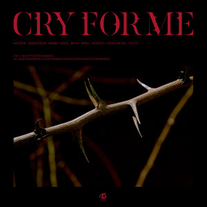 Album CRY FOR ME from TWICE