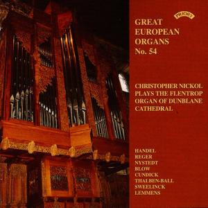 Christopher Nickol的專輯Great European Organs No. 54: Dunblane Cathedral
