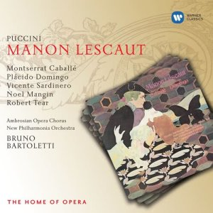 "Listen to Manon Lescaut, Act 2: ""In quelle trine morbide"" (Manon) song with lyrics from Sir Adrian Boult"