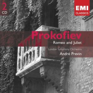 Andre Previn的專輯Romeo and Juliet - Prokofiev