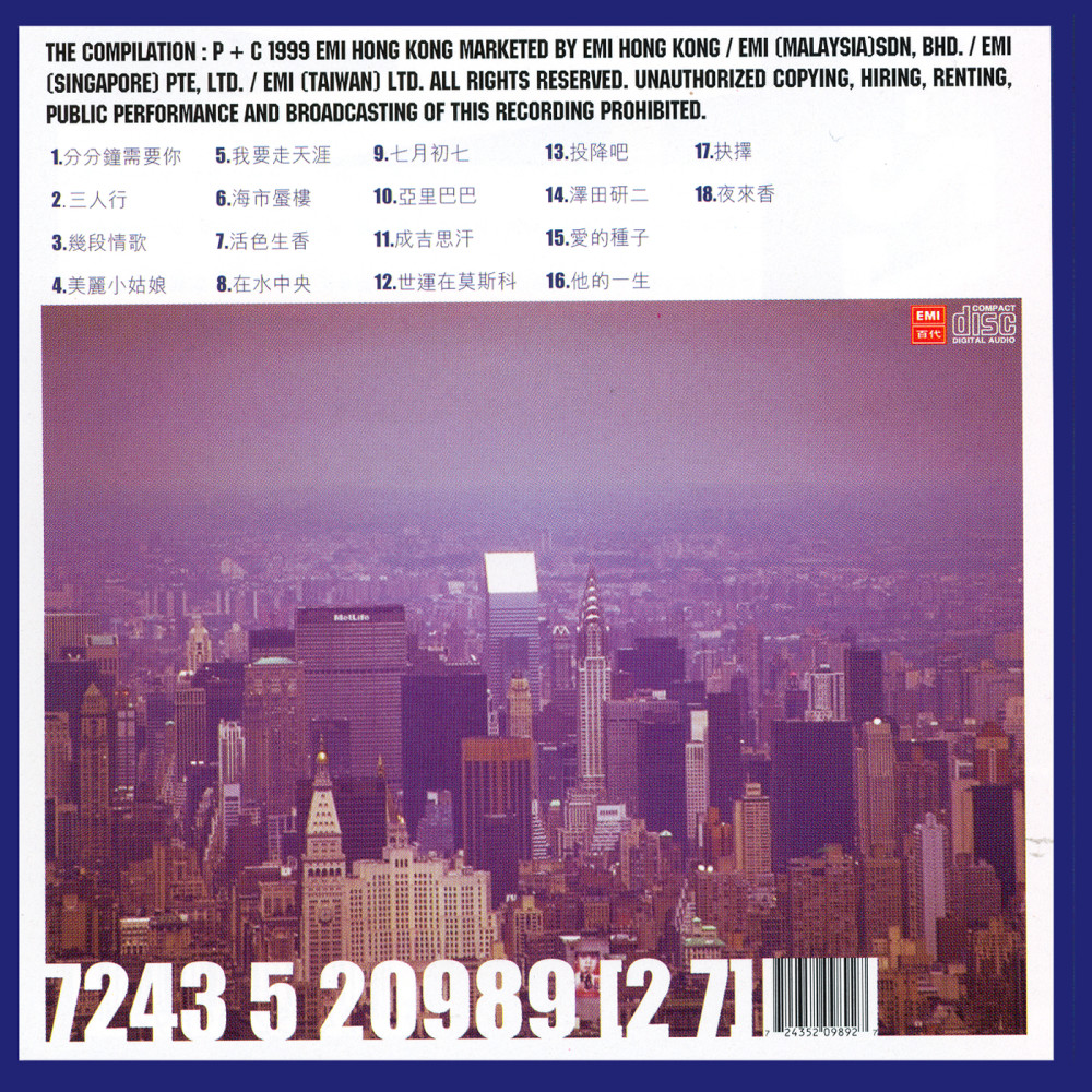 San Ren Xing 1999 林子祥; 刘天兰; Shi Shi