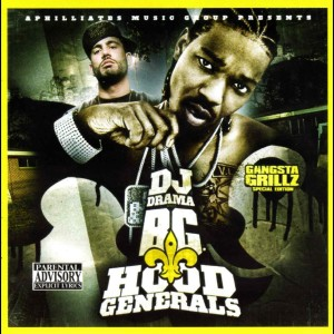 Album Hood Generals from B.G.
