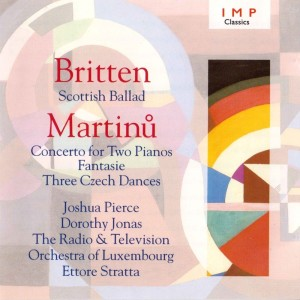 Ettore Stratta的專輯Britten: Scottish Ballad - Martinu: Concerto For Two Pianos / Fantasie / Three Czech Dances
