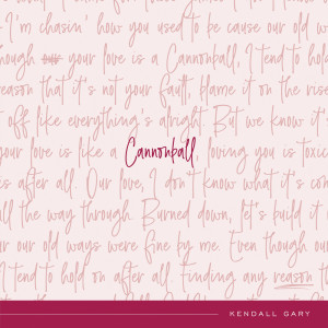 Album Cannonball from Kendall Gary