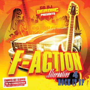Album F-Action Alternative 4 (Chopped & Screwed) (Explicit) from OG Ron C