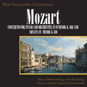 Album Wolfgang Amadeus Mozart: Concerto No. 20 For Piano And Orchestra In D-Minor, K. 466 / Piano Sonata In A-Minor, K. 310 from Denis Matthews