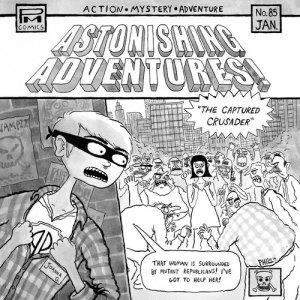 Album Astonishing Adventures! from Joanna Gruesome