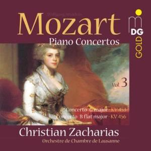 Album Mozart: Piano Concertos Vol. 3 from Christian Zacharias