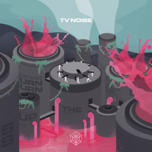 Album Turn Up The Bass from TV Noise