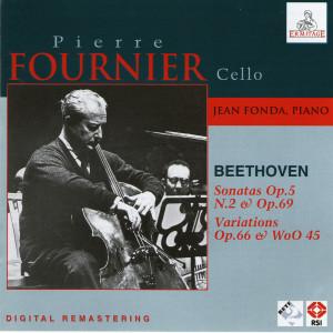 皮埃爾·富尼埃的專輯Pierre Fournier Cello, Jean Fonda piano