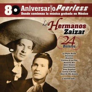 Album Peerless 80 Aniversario - 24 Boleros from Hermanos Zaizar