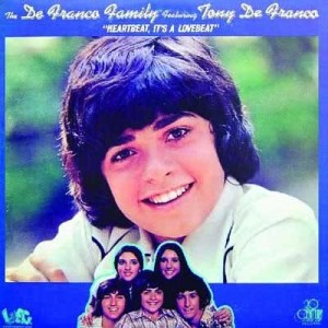 Album Heartbeat, It's A Lovebeat from The DeFranco Family featuring Tony DeFranco