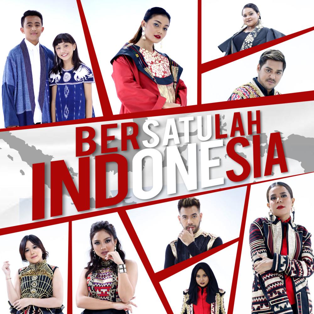 Bersatulah Indonesia 2018 Citra Scholastika; Nowela; Ahmad Abdul