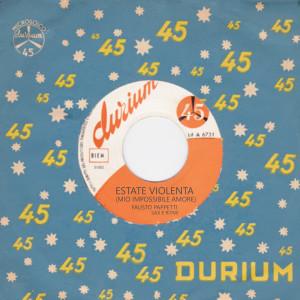 Album Estate Violenta from Fausto Papetti