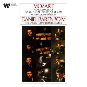 """English Chamber Orchestra的專輯Mozart: Piano Concertos Nos. 5, 6 & 8 """"Lützow"""""""