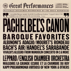 English Chamber Orchestra的專輯Great Baroque Favorites