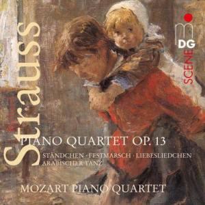 Album Strauss: Piano Quartets from Mozart Piano Quartet