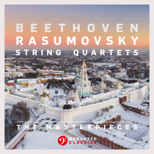 "Album The Masterpieces, Beethoven: String Quartets Nos. 7, 8 & 9, Op. 59 ""Rasumovsky"" from Fine Arts Quartet"
