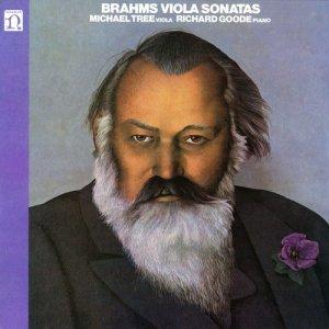 Album Brahms Viola Sonatas from Michael Tree