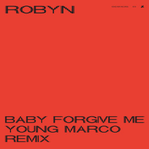 Robyn的專輯Baby Forgive Me