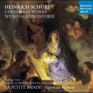 Album Schütz: Christmas Works - Weihnachtshistorie from La Petite Bande