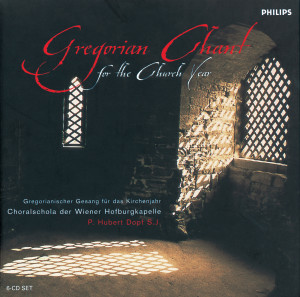 Album Gregorian Chant for the Church Year from Choralschola Der Wiener Hofburgkapelle