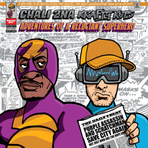 Album Adventures Of A Reluctant Superhero from Chali 2na