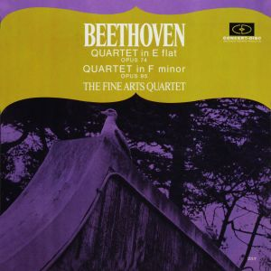 Album Beethoven: String Quartets Opp. 74 & 95 (Remastered from the Original Concert-Disc Master Tapes) from Fine Arts Quartet