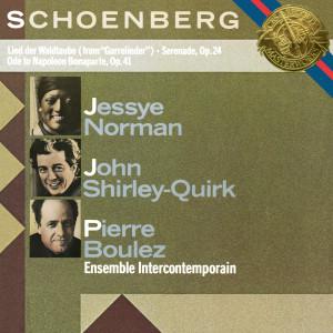 Pierre Boulez的專輯Schoenberg: Serenade, Op. 24, Lied der Waldtaube & Ode to Napoleon Buonaparte, Op. 41