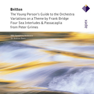 Album Britten: Orchestral Works from Sir Andrew Davis