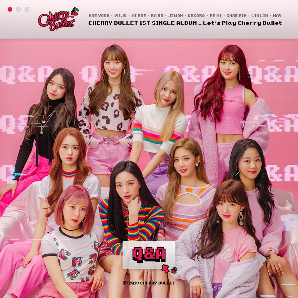 ฟังเพลงใหม่อัลบั้ม Cherry Bullet 1st Single Album Let's Play Cherry Bullet