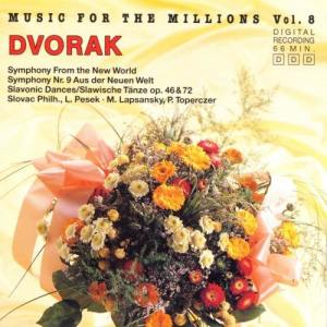 Album Music For The Millions Vol. 8 - Antonin Dvorak from National Philharmonic Orchestra